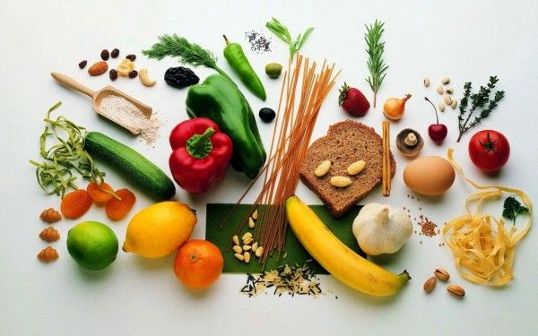 Healthy Food Fruits Vegetables Wallpaper (2)