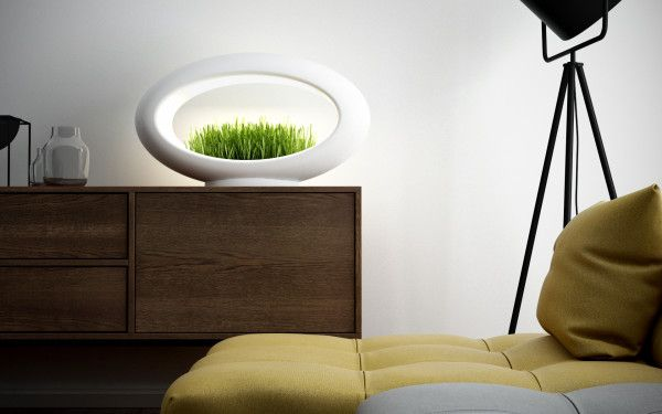 Stona grass lamp render bela final
