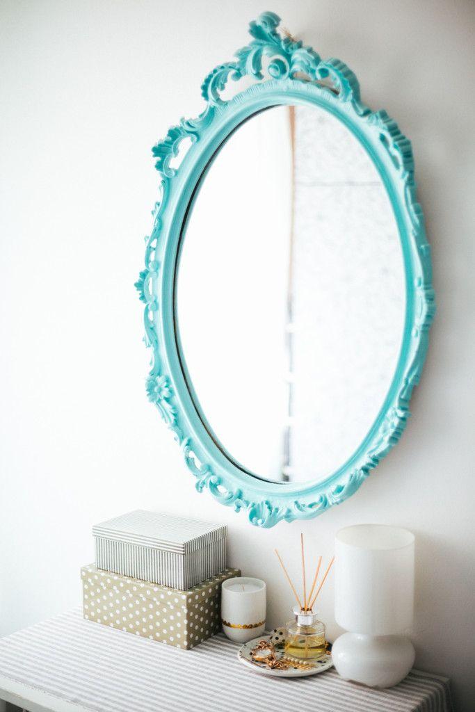 Enterijer priča - Brana's Divine World - Interior Inspiration - Uređenje doma - Tirkizno ogledalo