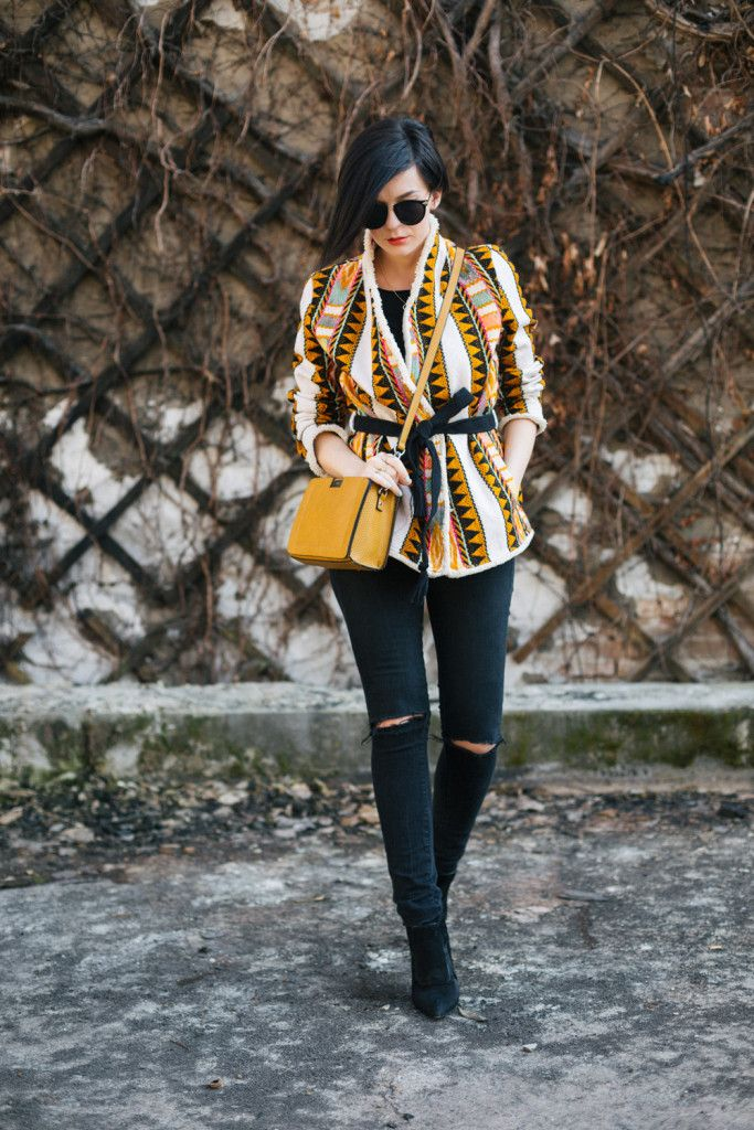 Brana's Divine World - outfit - H&M prolećna jakna, Mango farmerice, Parfois torba
