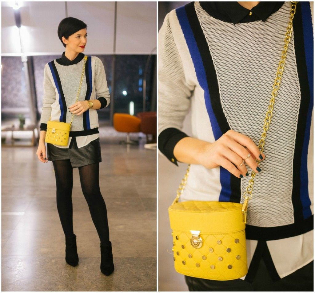 Brana's Divine World - outfit - rekapitulacija - Koton džemper, Koton suknja, Pull&Bear torba