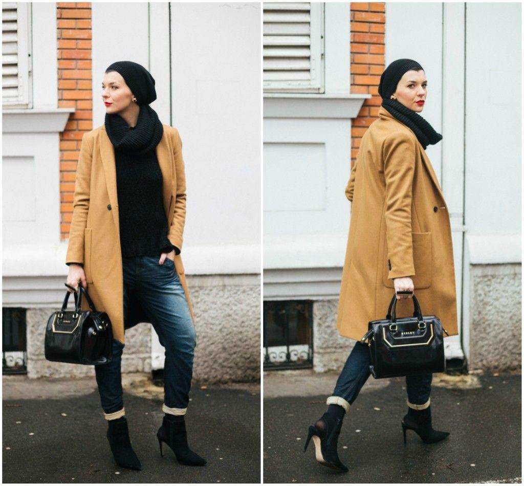 Brana's Divine World - outfit - rekapitulacija - Zara kaput, Sisley torba, Reebok farmerice
