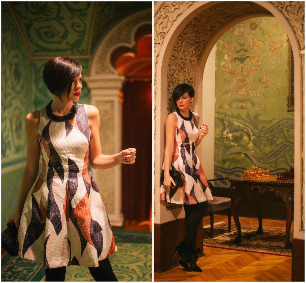 Brana's Divine World - outfit - rekapitulacija - H&M haljina
