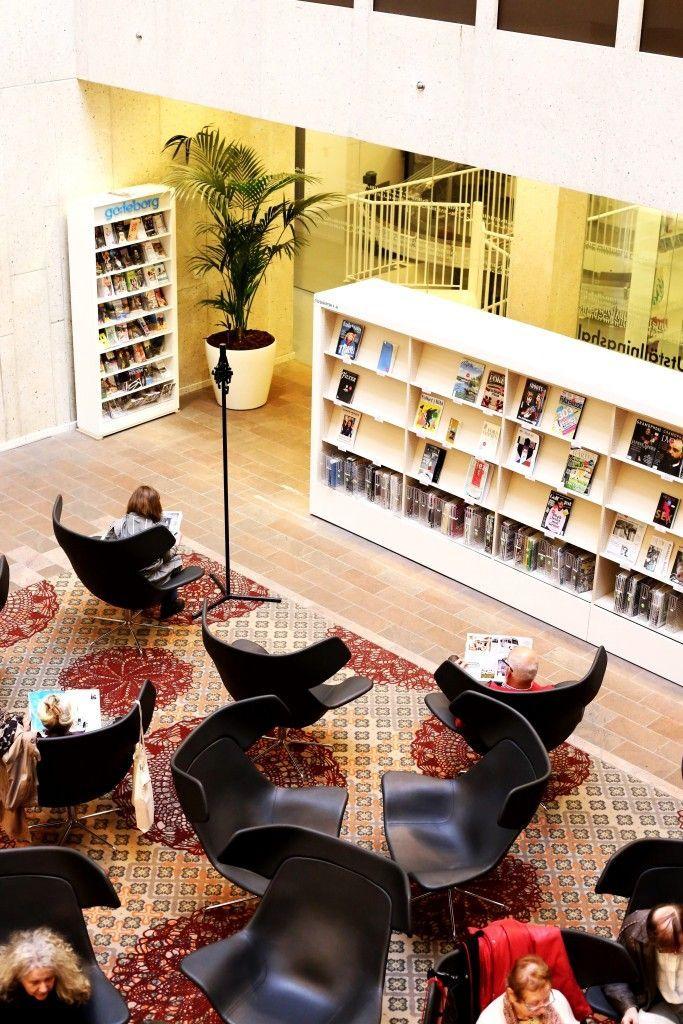 Švedska, Geteborg, Gradska biblioteka