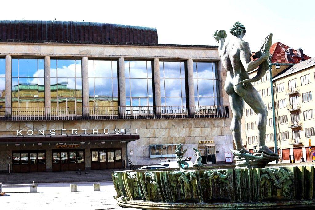 Švedska, Geteborg, Koncertna dvorana