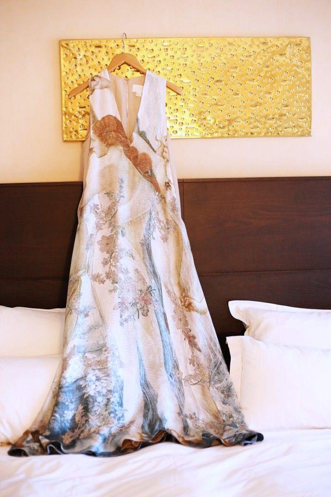 Kan, Francuska, Bioderma blogersko okupljanje, H&M Conscious Exclusive haljina 10