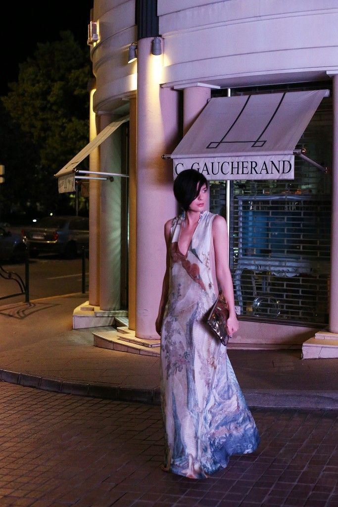 Kan, Francuska, Bioderma blogersko okupljanje, H&M Conscious Exclusive haljina 11