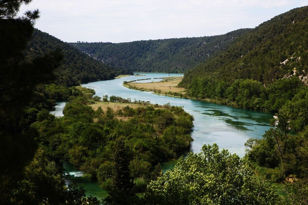 Šume i vode Nacionalnog parka Krka u Hrvatskoj