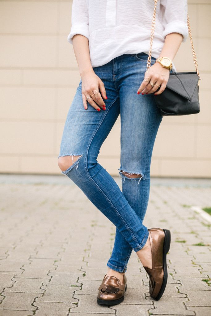 Brana's Divine World | 4 para obuće, 2 outfita, 1 post, Ecco mokasine