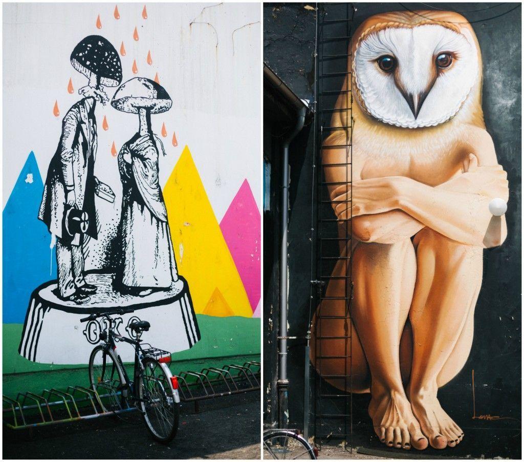 Zagreb, Studentski centar, Zagrebačka ulična umetnost