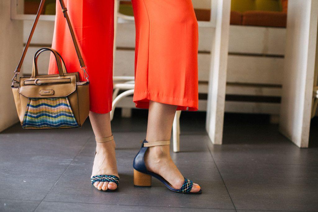 Brana's Divine World | Narandžaste pantalone, kratka marama i mnogo boja - moja letnja outfit priča