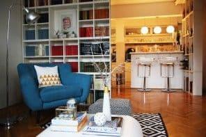 Moj dom: kutak za čitanje (izgled pre & posle)
