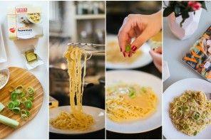 BDW kuhinjica: Nudle sa sosom od humusa