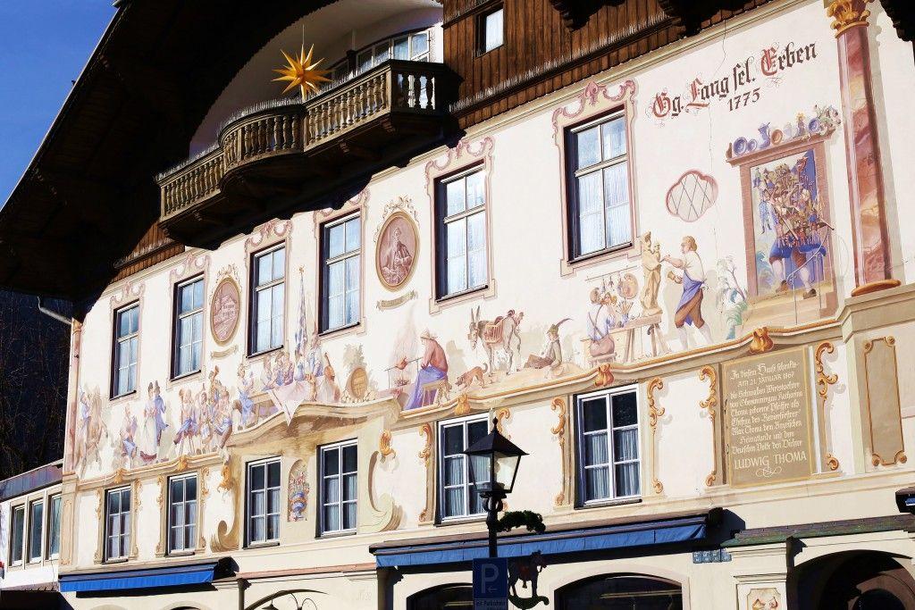 Selo Oberammergau, Bavarska, Nemacka 04