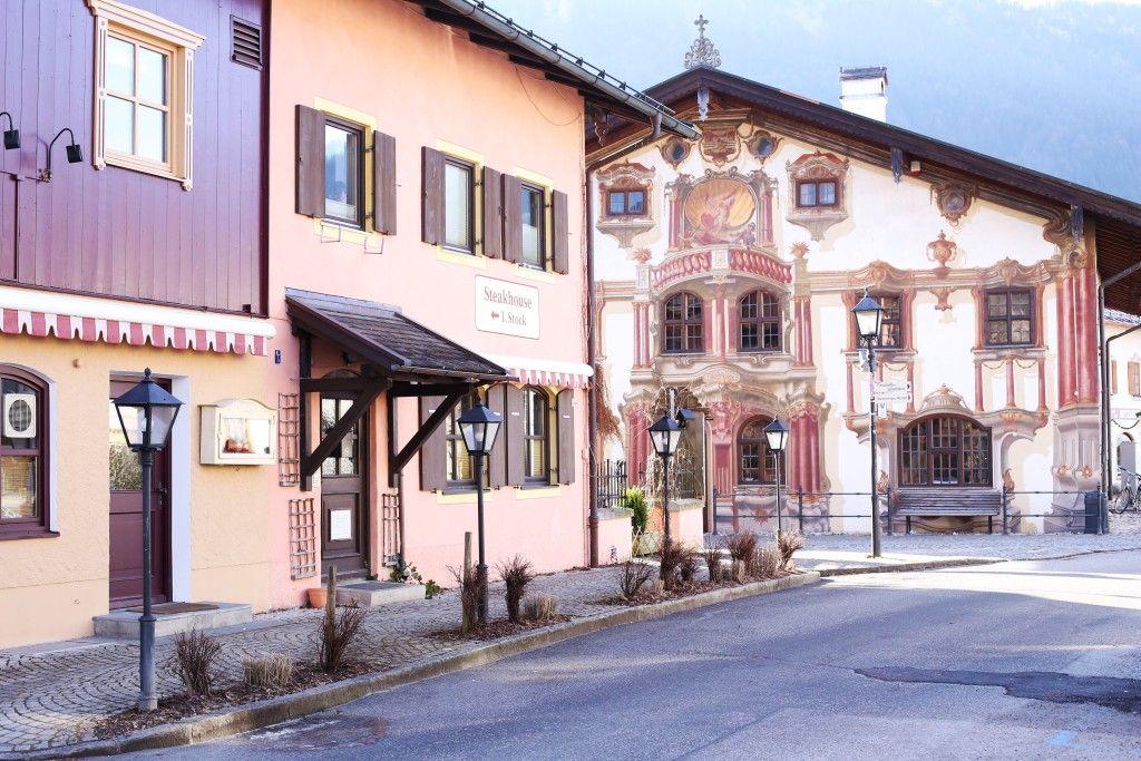 Selo Oberammergau, Bavarska, Nemacka 07
