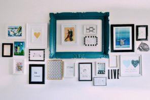 Kako da napravite svoj galerijski zid