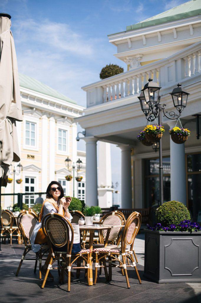 Eksterijer kafića u Parndorfu