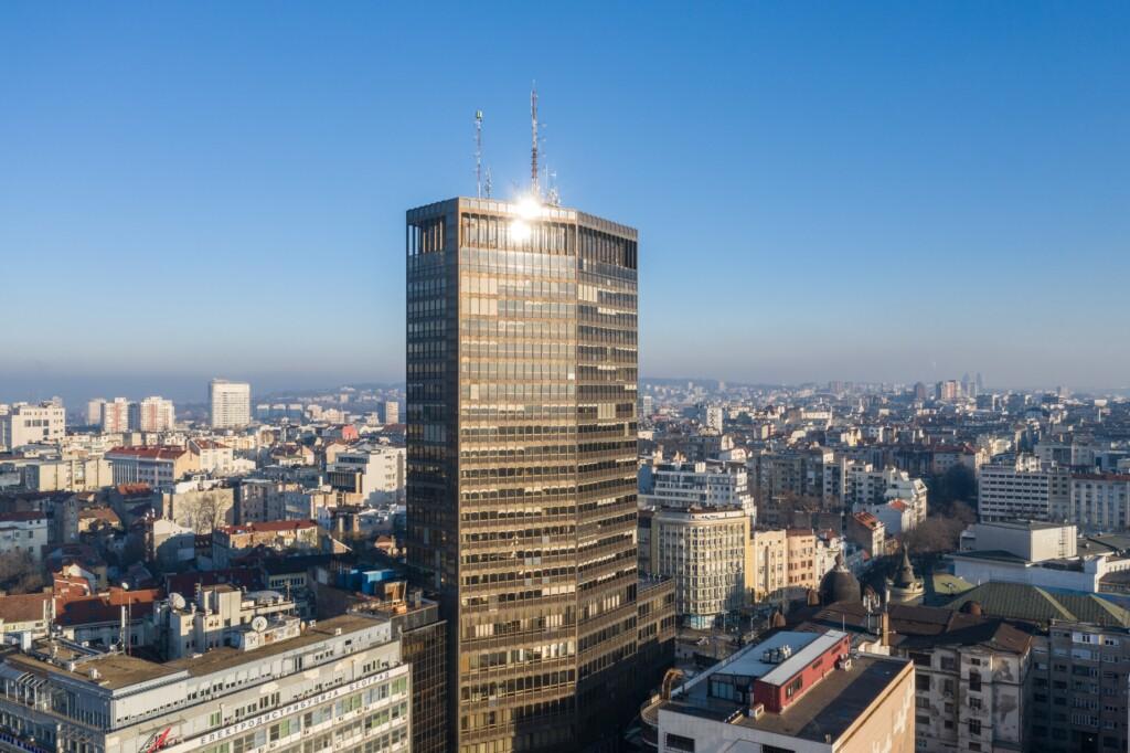 Doživite grad sa vidikovca Palate Beograd